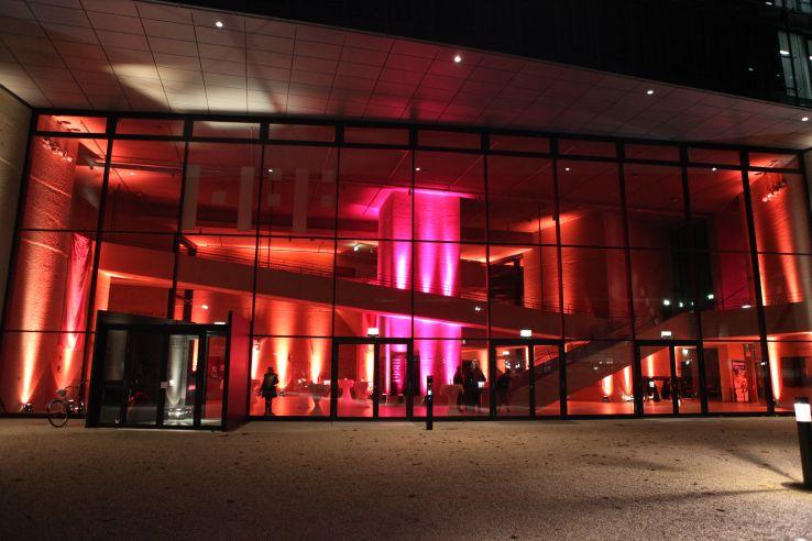 Lichtdesign München georg veit lichtdesign hff münchen